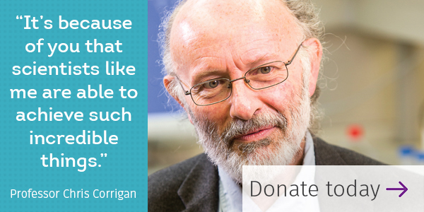 Donate Today - Professor Chris Corrigan