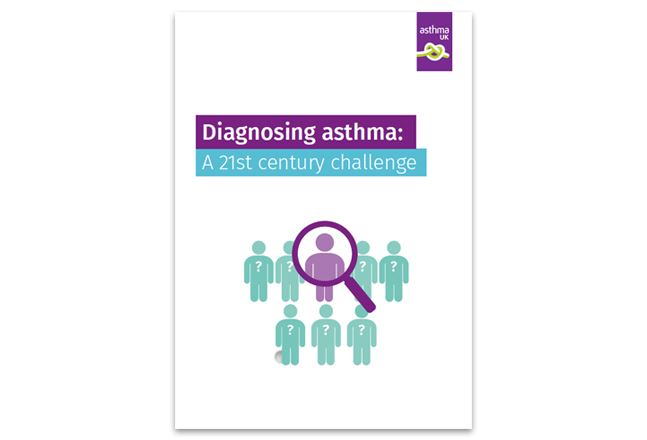 Front cover of Diagnosing asthma: a 21st century challenge