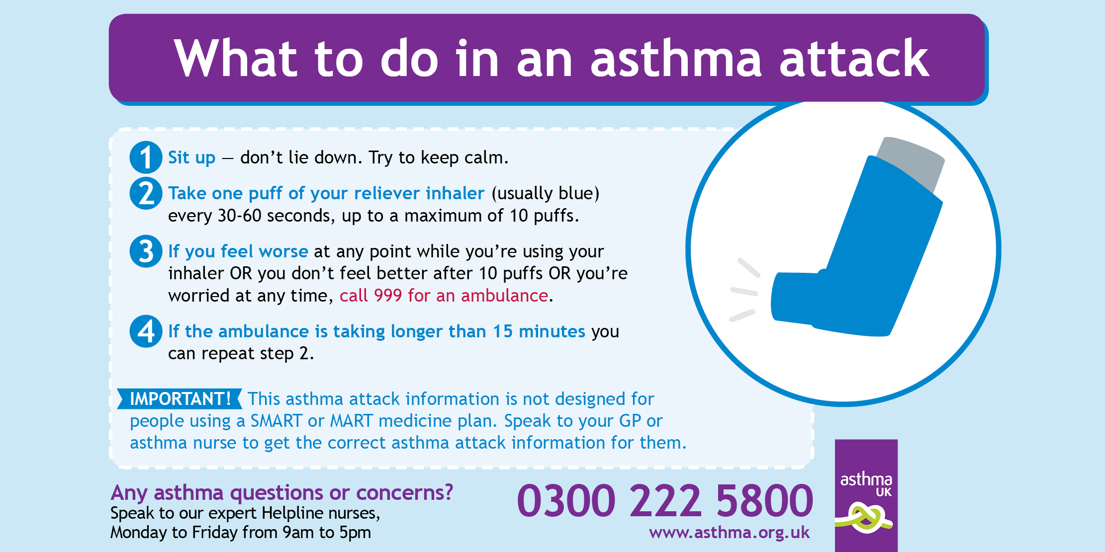 child asthma - what to do