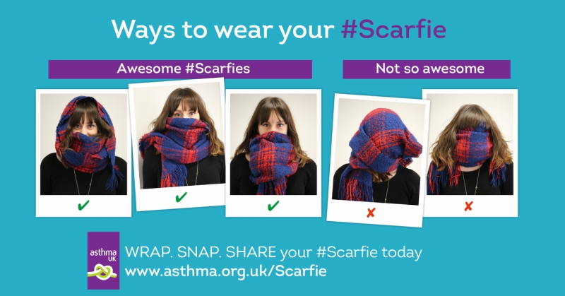 How to wear your Scarfie image