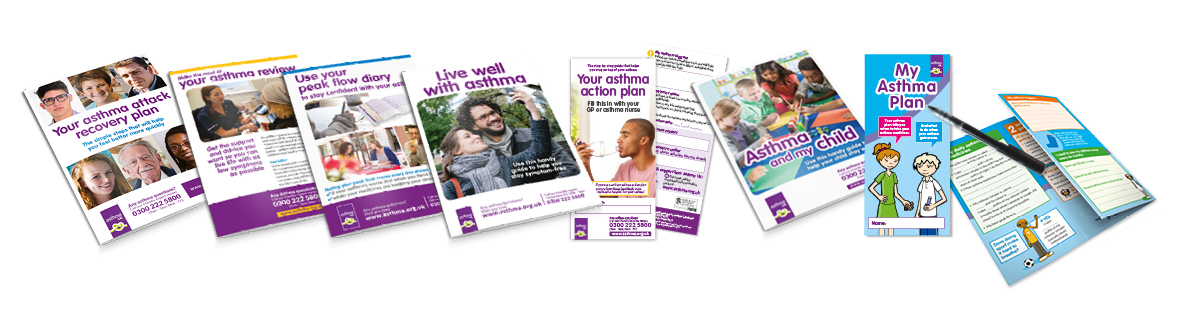 Asthma UK - downloadable resources