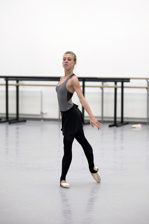 Constance D in rehearsal